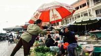 Chợ rau đầu năm mới