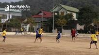 Tương Dương: Gần 100 VĐV tham gia giải bóng đá chào mừng ngày thành lập Đoàn