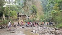 Khởi công xây dựng 2 cây cầu giúp bản nghèo Khơ mú