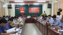 Ủy ban Kiểm tra Tỉnh ủy giao ban công tác kiểm tra giám sát