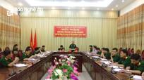 Đảng ủy Bộ CHQS tỉnh kiểm điểm giữa nhiệm kỳ 2015 - 2020