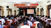 Nghệ An: Bồi dưỡng kiến thức cho 140 bí thư, phó bí thư đảng ủy xã
