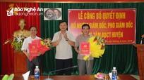 Tân Kỳ: Nhất thể hóa Trưởng ban Tuyên giáo và Giám đốc Trung tâm Bồi dưỡng chính trị