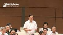 Các đại biểu đoàn Nghệ An sôi nổi thảo luận về dự án Luật Công an nhân dân
