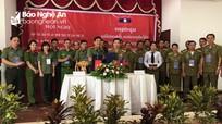 Hợp tác bảo vệ ANTT giữa Nghệ An và Xiêng Khoảng