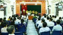 Bí thư Tỉnh ủy Nguyễn Đắc Vinh dự sinh hoạt chi bộ dân cư tại phường Hưng Dũng