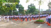 Hàng ngàn học sinh Nghệ An tưởng niệm cố Chủ tịch nước Trần Đại Quang
