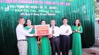 Phó Bí thư Thường trực Tỉnh ủy Nguyễn Xuân Sơn dự Ngày hội Đại đoàn kết tại phường Lê Mao