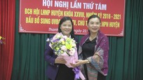 Huyện Thanh Chương có Chủ tịch Hội Liên hiệp phụ nữ mới