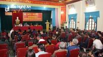 Cử tri xã Nghi Xuân (Nghi Lộc) phản ánh nhiều vấn đề phát sinh từ cơ sở