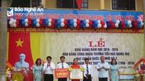 Hơn 71% trường học ở huyện Nghĩa Đàn đạt chuẩn quốc gia