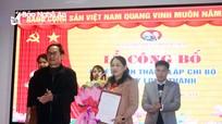Thị ủy Hoàng Mai công bố Quyết định thành lập chi bộ doanh nghiệp thứ 2