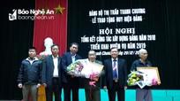 Thanh Chương, Nghĩa Đàn, Con Cuông: Trao Huy hiệu Đảng tặng các đảng viên