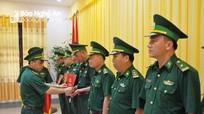 Bộ đội Biên phòng tỉnh trao 21 quyết định điều động, bổ nhiệm cán bộ