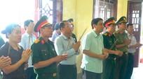 Bí thư Tỉnh ủy dâng hương tưởng niệm các anh hùng liệt sĩ hy sinh tại Lào