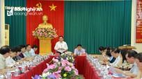 Bí thư Trung ương Đảng Nguyễn Xuân Thắng: Nghệ An phát triển nhanh nhưng phải bền vững