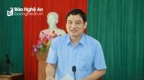 Bí thư Tỉnh ủy Nguyễn Đắc Vinh: Xây dựng hệ thống chính trị cơ sở vững mạnh là nhiệm vụ hàng đầu