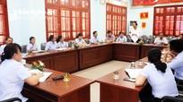 Chủ nhiệm Ủy ban Kiểm tra Tỉnh ủy dự sinh hoạt chi bộ tại Yên Thành