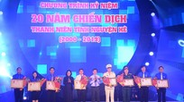 Tỉnh đoàn Nghệ An được trao Huân chương Lao động hạng Ba