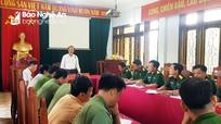 Nâng cao chất lượng sinh hoạt chi bộ trong lực lượng vũ trang ở huyện Quỳ Hợp