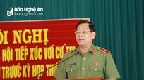 Tướng Cầu: Sắp xếp ngành Công an theo hướng 'Bộ tinh - tỉnh mạnh - huyện toàn diện - xã bám cơ sở'