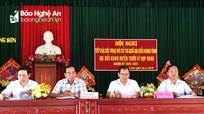 Phó Chủ tịch HĐND tỉnh Hoàng Viết Đường tiếp xúc cử tri huyện Đô Lương