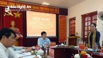Chủ tịch Ủy ban MTTQ tỉnh dự kiểm điểm Ban Thường vụ Huyện ủy Con Cuông