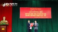 Trao quyết định chuẩn y Bí thư Huyện ủy Yên Thành