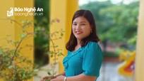 Nghệ An: Cô giáo mầm non giành giải Nhất tuần 3 cuộc thi tìm hiểu truyền thống ngành Tuyên giáo