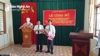 Phó Trưởng ban Dân vận Huyện ủy Quỳnh Lưu giữ chức Bí thư Đảng ủy xã Quỳnh Mỹ