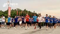 Nghệ An: Gần 2.000 đoàn viên, thanh niên tham gia 'Những bước chân vì cộng đồng' chặng 2