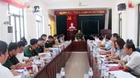 Tỉnh ủy kiểm tra việc thực hiện nhiệm vụ quân sự, quốc phòng tại huyện Nghĩa Đàn