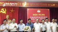 Trưởng ban Dân vận Huyện ủy Nghi Lộc giữ chức Chủ tịch Ủy ban MTTQ huyện