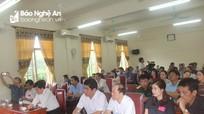 Gần 40 cán bộ, công chức huyện Con Cuông bước vào kỳ thi sát hạch