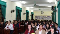 Đảng ủy Khối Các cơ quan tỉnh khai giảng lớp bồi dưỡng đối tượng Đảng
