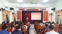 Đảng ủy Khối Doanh nghiệp tỉnh khai giảng lớp bồi dưỡng đảng viên mới