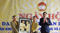 Lãnh đạo tỉnh vui Ngày hội Đại đoàn kết với nhân dân xã Yên Tĩnh, huyện Tương Dương