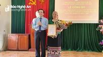 MTTQ huyện Anh Sơn có tân chủ tịch