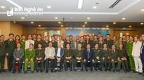 Gặp mặt 50 tướng lĩnh, Anh hùng lực lượng Công an nhân dân đồng hương Nghệ An tại Hà Nội