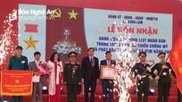 Xã Xuân Lâm (Nam Đàn) đón nhận danh hiệu Anh hùng Lực lượng vũ trang nhân dân
