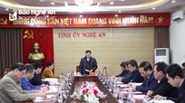 Thường trực Tỉnh ủy giao ban với Mặt trận Tổ quốc và các tổ chức chính trị - xã hội tỉnh