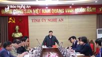 Các ban xây dựng Đảng và Văn phòng Tỉnh ủy sẽ tổ chức hội nghị chung tổng kết chuyên môn để tiết giảm hội họp