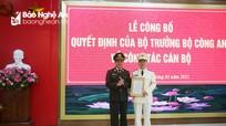 Công an tỉnh Nghệ An có tân Phó Giám đốc