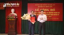 Công bố Quyết định chuẩn y Phó Bí thư Thường trực Huyện ủy Nghi Lộc