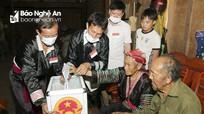 Ấn tượng về ngày bầu cử sớm ở miền Tây Nghệ An