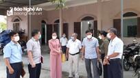 Chủ tịch Ủy ban MTTQ tỉnh dự sinh hoạt chi bộ tại huyện Nghi Lộc