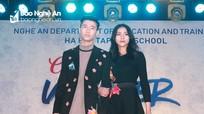Nữ sinh Trường THPT Hà Huy Tập rạng rỡ trong đêm Cherished Winter