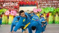 Đạt 23 giải Nhất, đoàn Diễn Châu đứng đầu Hội khỏe Phù Đổng tỉnh