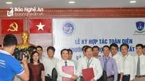 Đại học Vinh ký kết hợp tác toàn diện với Đại học Nguyễn Tất Thành - TP Hồ Chí Minh