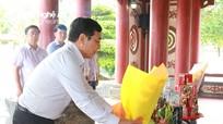 Ủy ban MTTQ dâng hương kỷ niệm 71 năm Ngày Thương binh Liệt sỹ